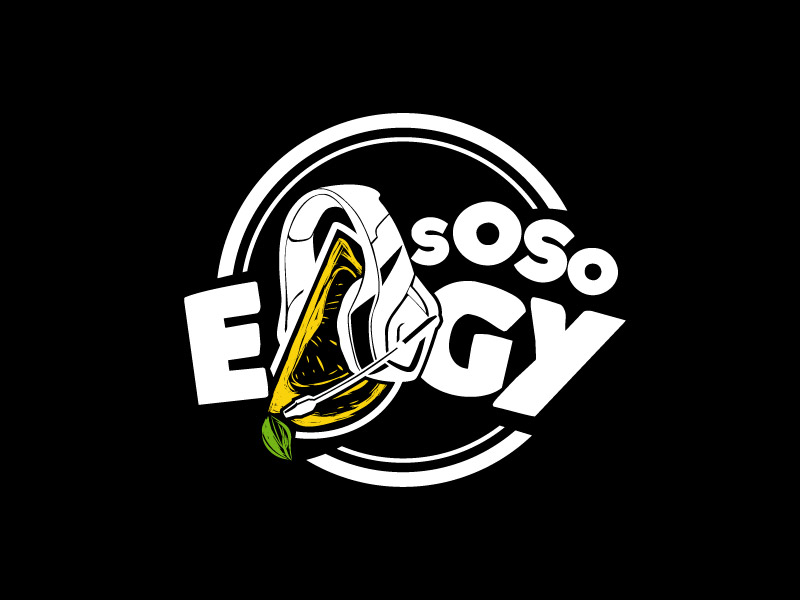 SoSoEdgy logo design by Bl_lue