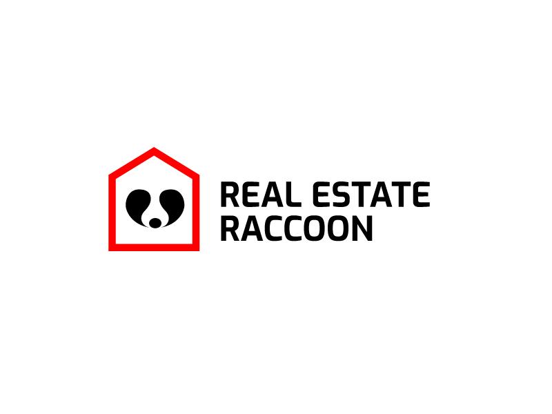 Real Estate Raccoon logo design by syakira