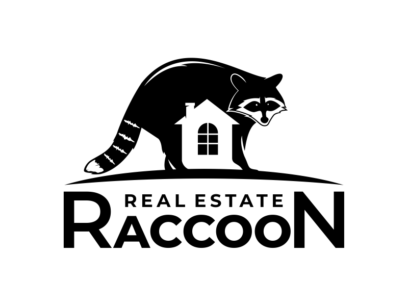 Real Estate Raccoon logo design by mutafailan