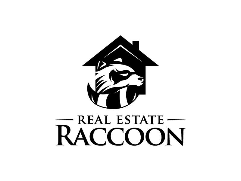 Real Estate Raccoon logo design by LogOExperT