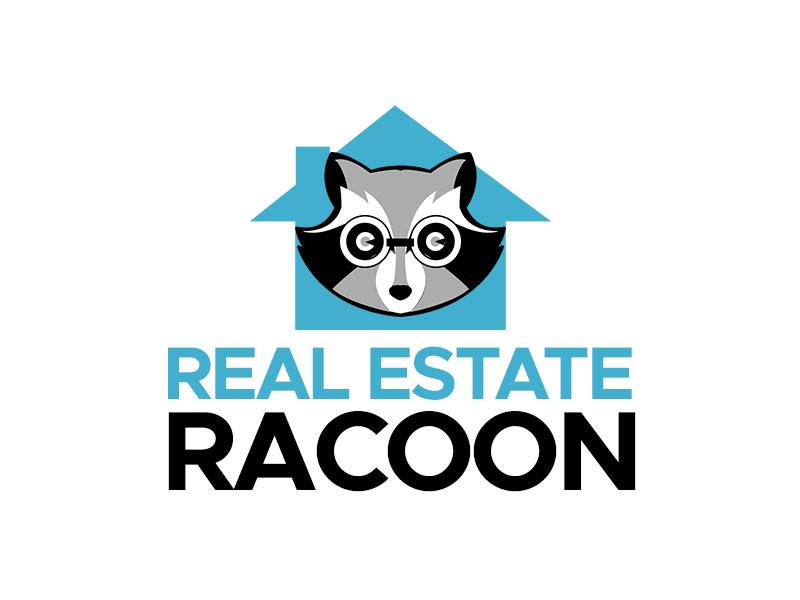 Real Estate Raccoon logo design by kunejo