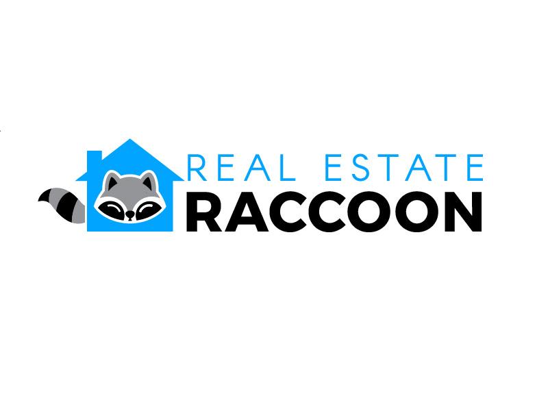 Real Estate Raccoon logo design by justin_ezra