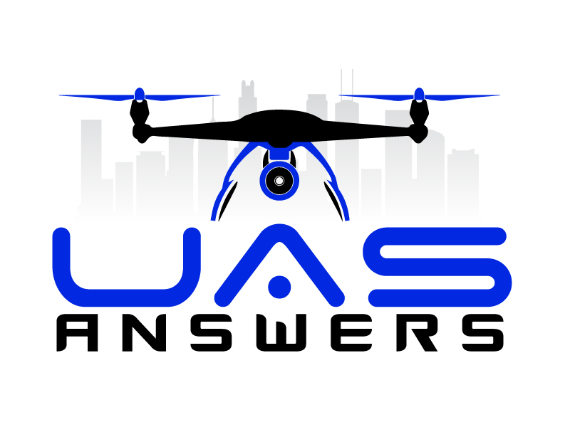 UAS Answers logo design by ElonStark