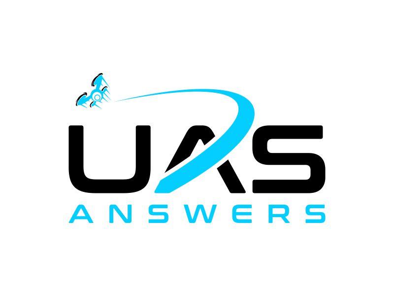 UAS Answers logo design by Galfine