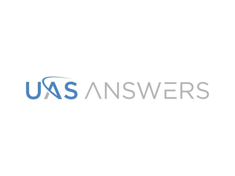 UAS Answers logo design by mukleyRx