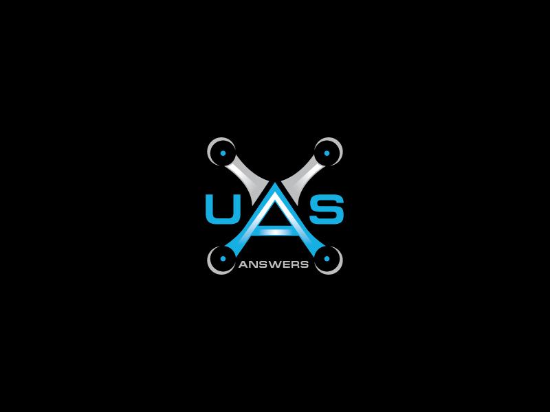 UAS Answers logo design by sanu