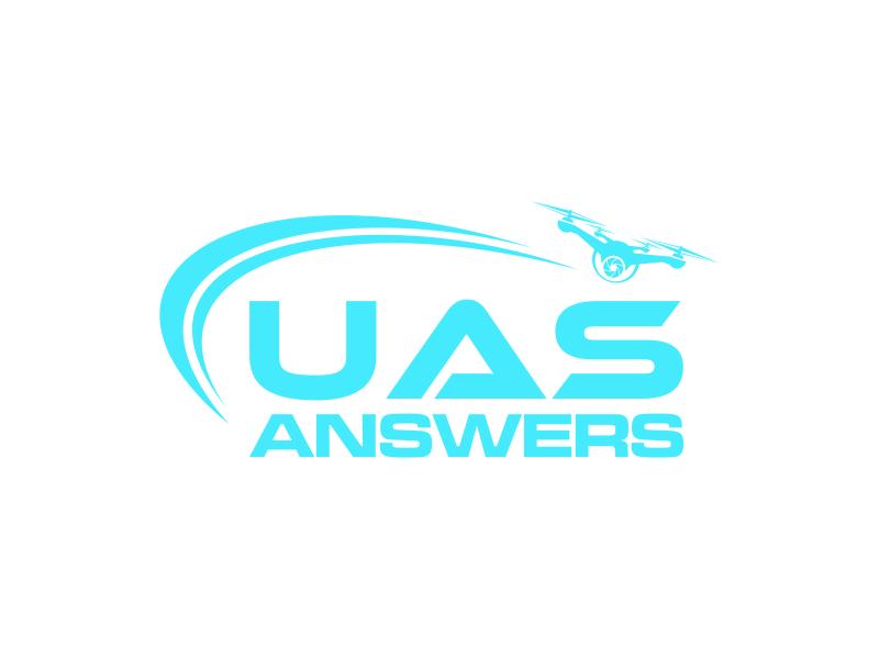 UAS Answers logo design by santrie