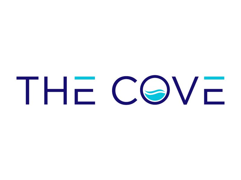 The Cove logo design by Mirza