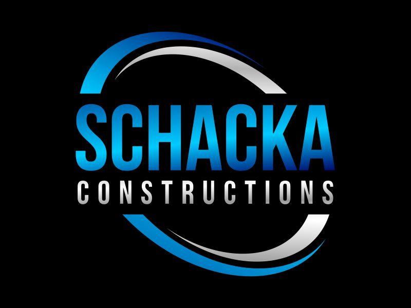 SCHACKA CONSTRUCTIONS logo design by Gwerth
