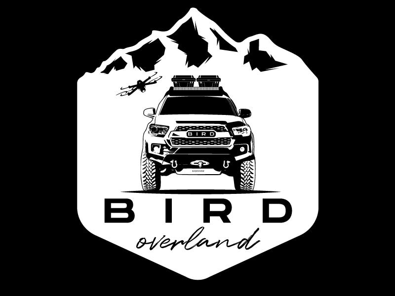 Bird Overland Logo Design