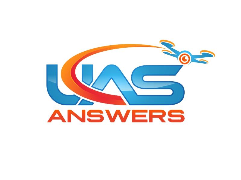 UAS Answers logo design by brandshark