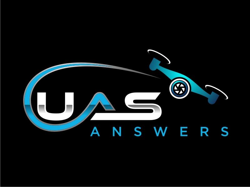 UAS Answers logo design by Inki