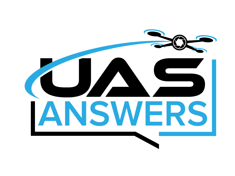 UAS Answers logo design by jaize