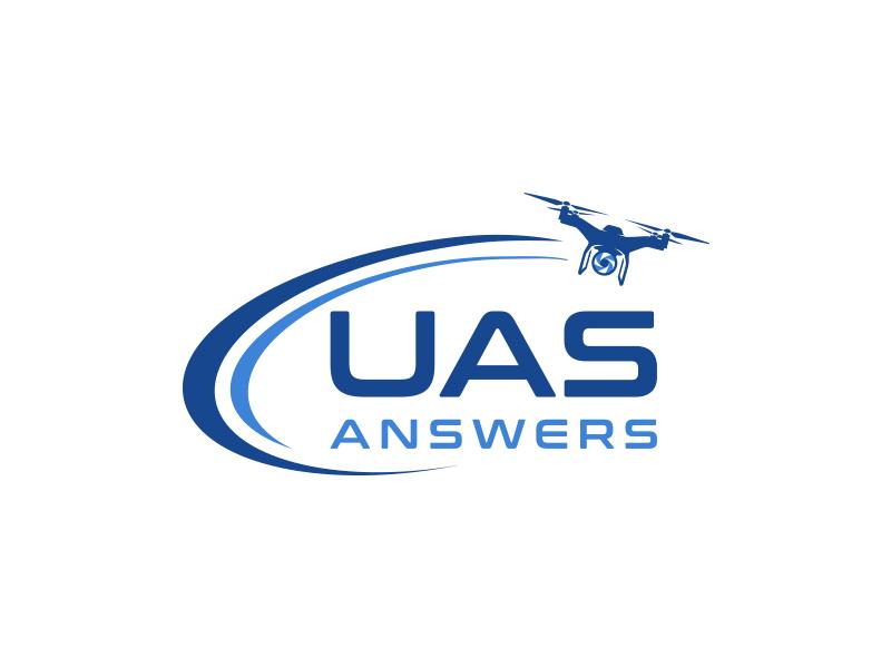 UAS Answers logo design by keylogo