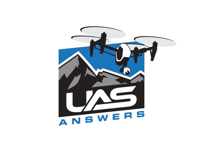 UAS Answers logo design by pencilhand