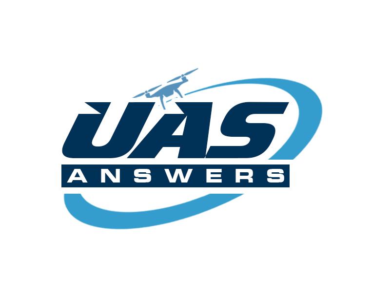 UAS Answers logo design by kunejo