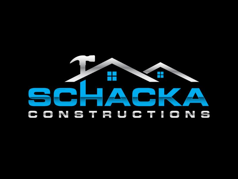 SCHACKA CONSTRUCTIONS logo design by labo