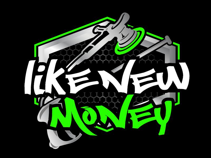 Like New Money logo design by ElonStark