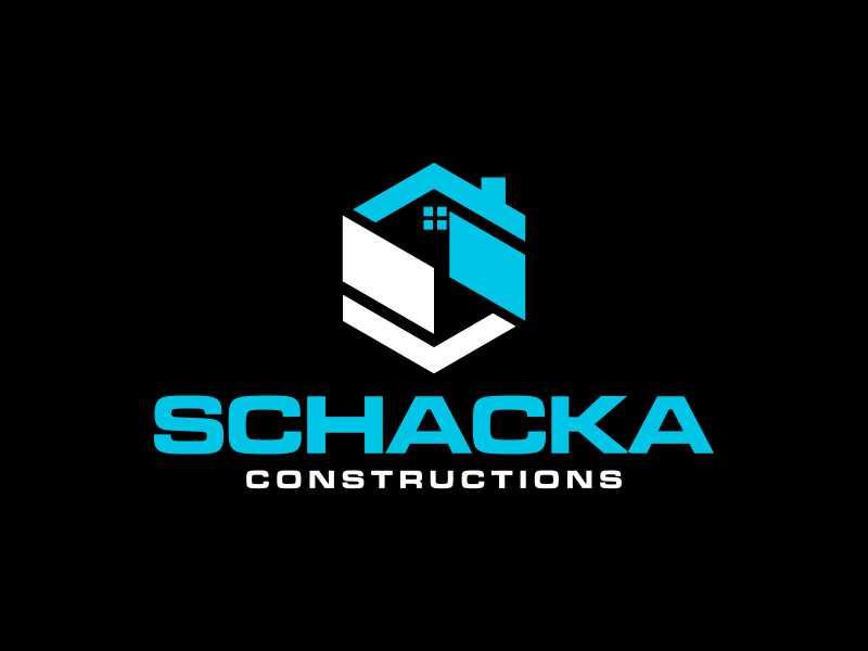 SCHACKA CONSTRUCTIONS logo design by Sheilla
