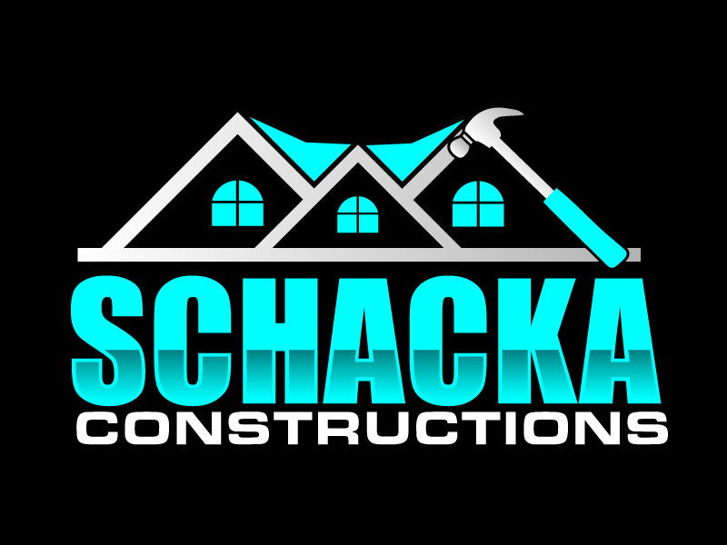 SCHACKA CONSTRUCTIONS logo design by ElonStark