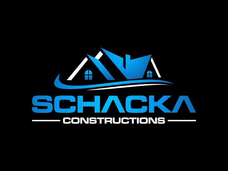 SCHACKA CONSTRUCTIONS logo design by rian38