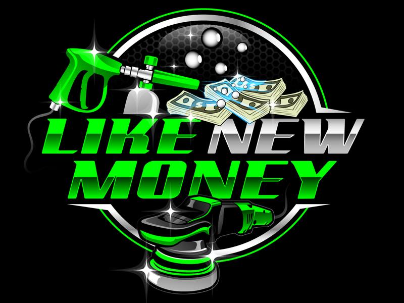 Like New Money logo design by DreamLogoDesign