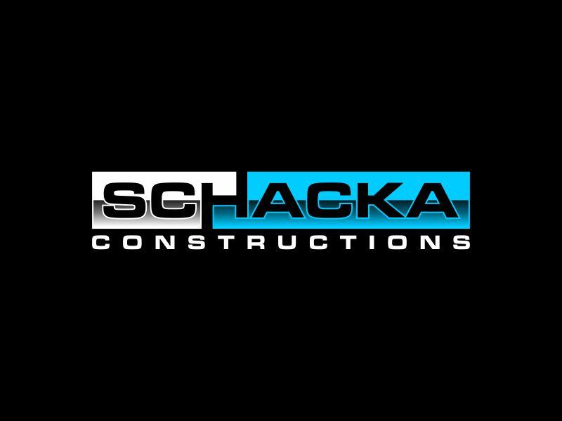 SCHACKA CONSTRUCTIONS logo design by ora_creative