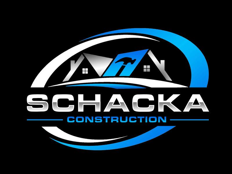 SCHACKA CONSTRUCTIONS logo design by Bananalicious