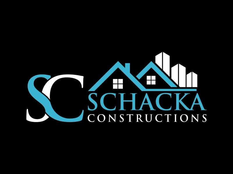 SCHACKA CONSTRUCTIONS logo design by luckyprasetyo