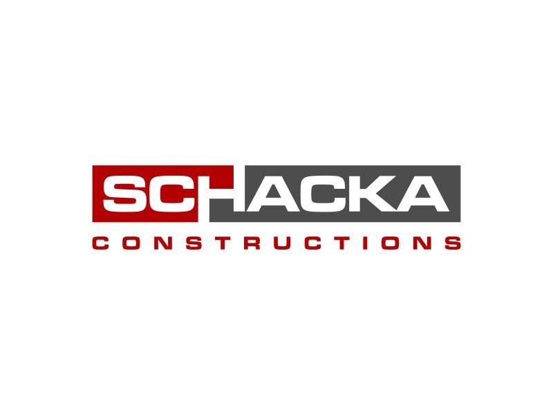 SCHACKA CONSTRUCTIONS logo design by haidar