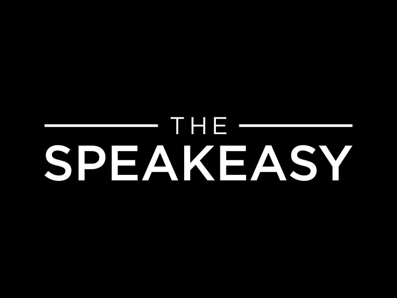 The Speakeasy logo design by p0peye