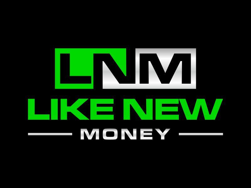 Like New Money logo design by p0peye