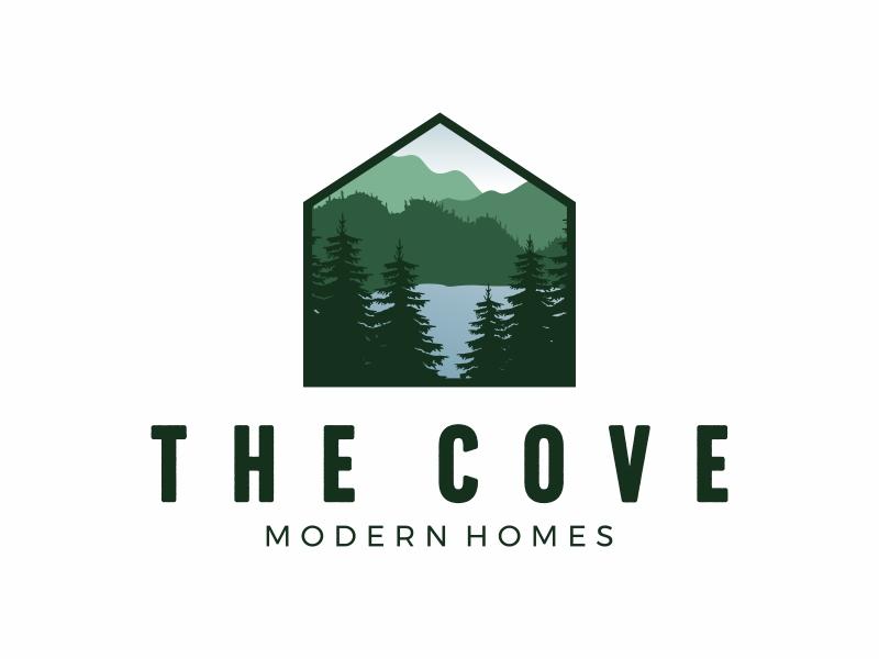 The Cove logo design by Mardhi