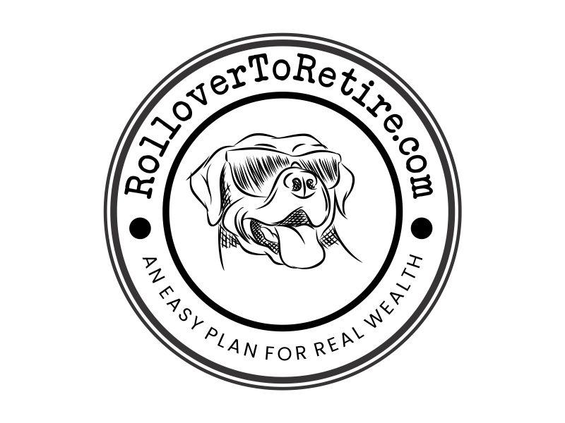 RolloverToRetire.com logo design by Alfatih05