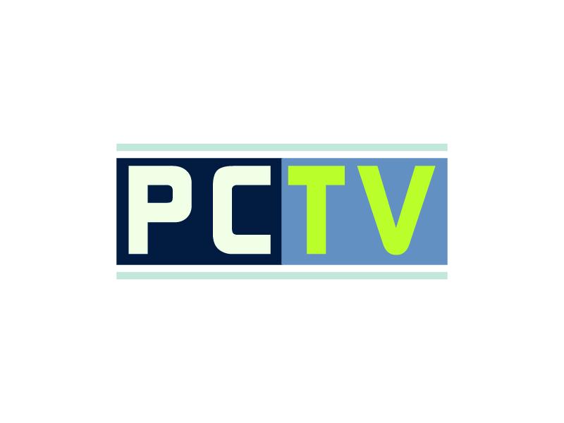 PCTV logo design by Shailesh