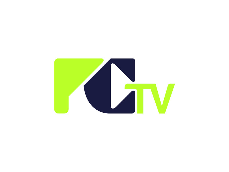 PCTV logo design by Rizqy