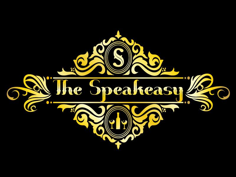 The Speakeasy logo design by LogoQueen