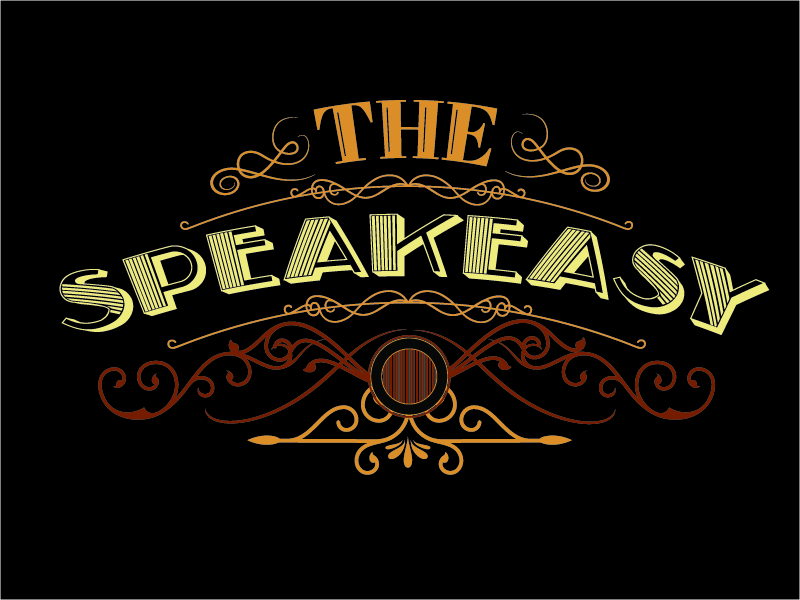 The Speakeasy logo design by Carli Yario Lindahl