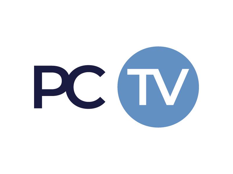 PCTV logo design by Mezzala