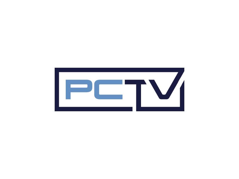 PCTV logo design by Erasedink