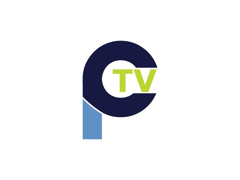 PCTV logo design by yondi