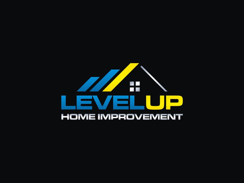 Level Up Home Improvement logo design by Rizqy