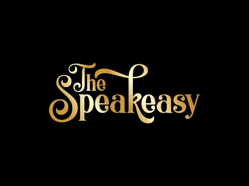 The Speakeasy logo design by lj.creative