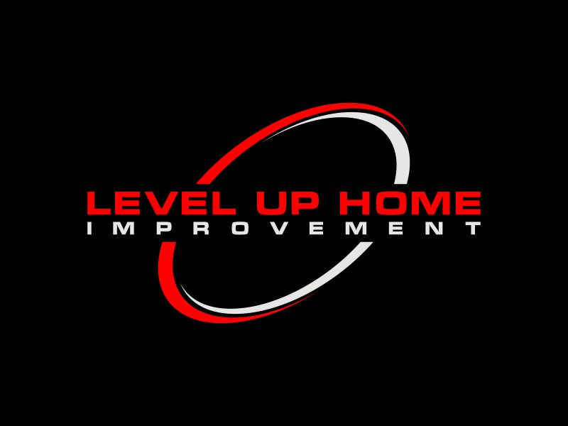 Level Up Home Improvement logo design by mukleyRx