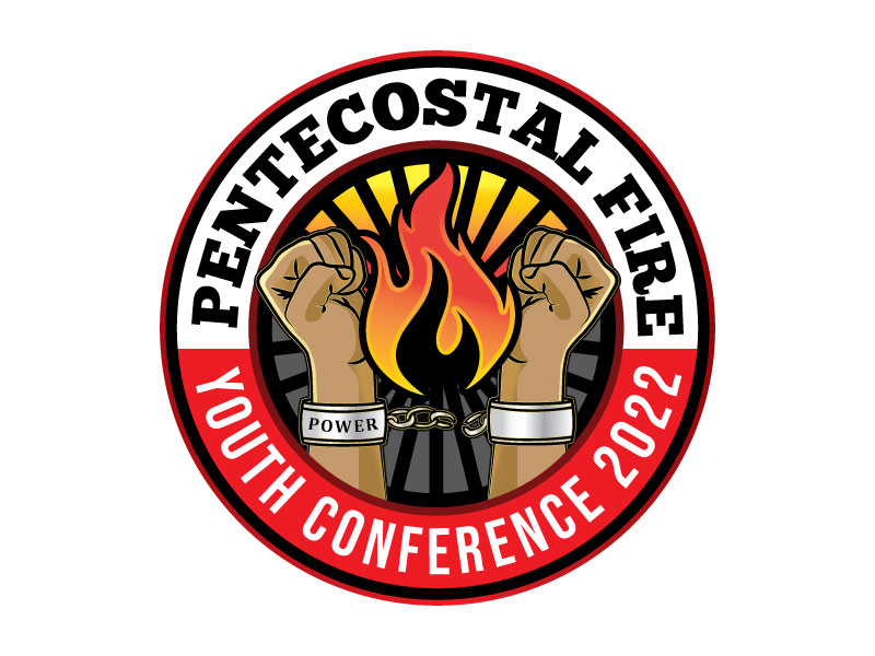 Pentecostal Fire Youth Conference 2022 logo design by Godvibes