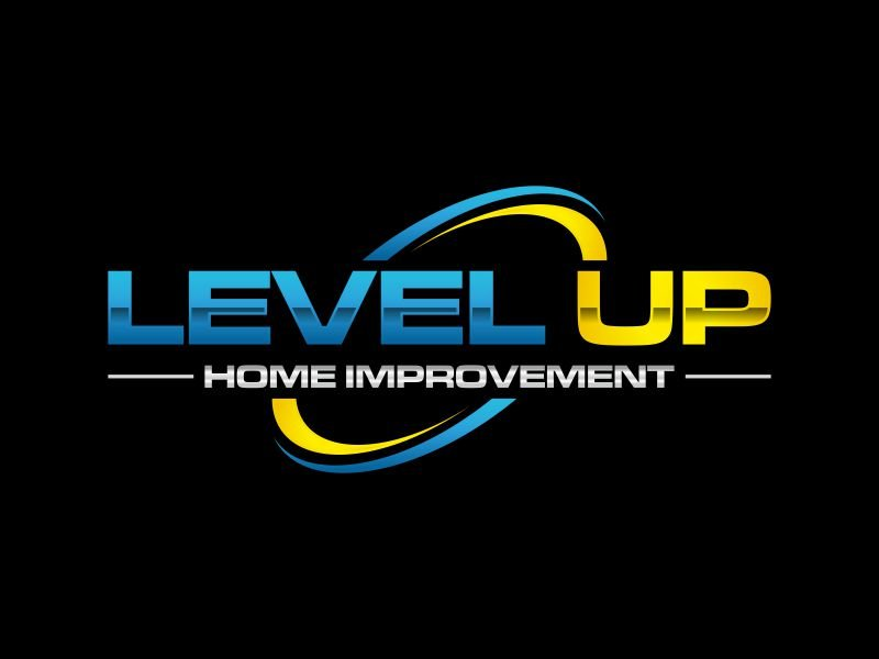 Level Up Home Improvement logo design by rian38