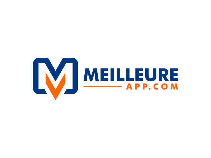 MeilleureApp.com logo design by andayani*