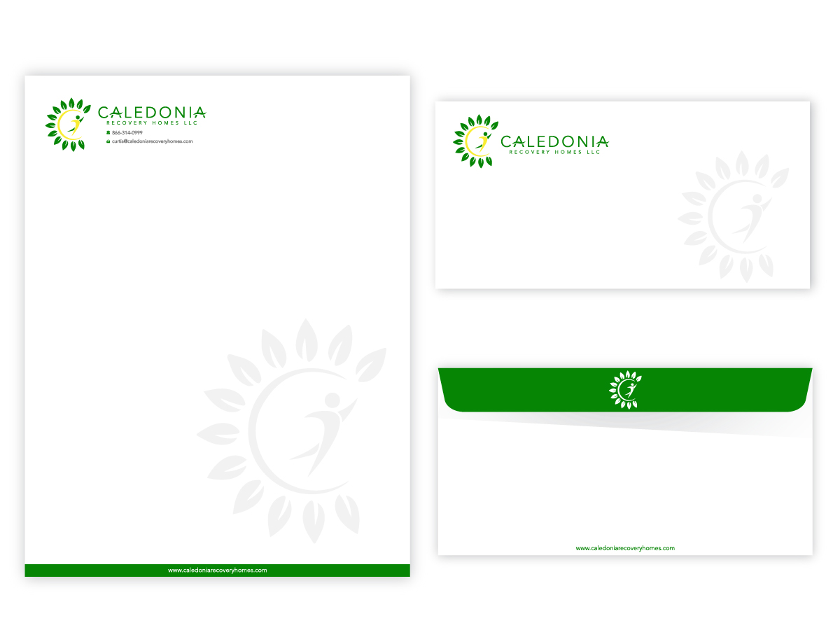 Caledonia Recovery Homes LLC logo design by Sofi