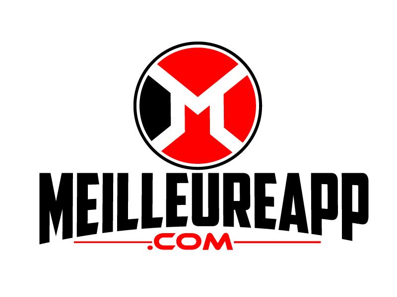 MeilleureApp.com logo design by ElonStark