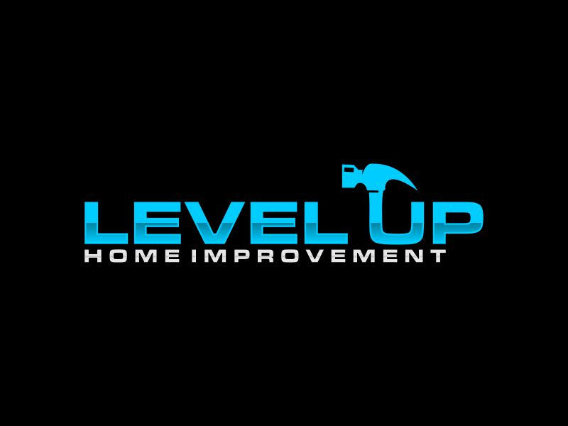 Level Up Home Improvement logo design by andayani*